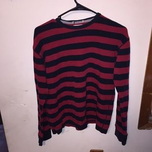 Nautica Jeans red and black thermal long sleeve